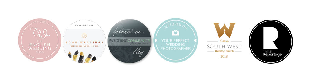 achievement badges, barnstaple wedding photographer