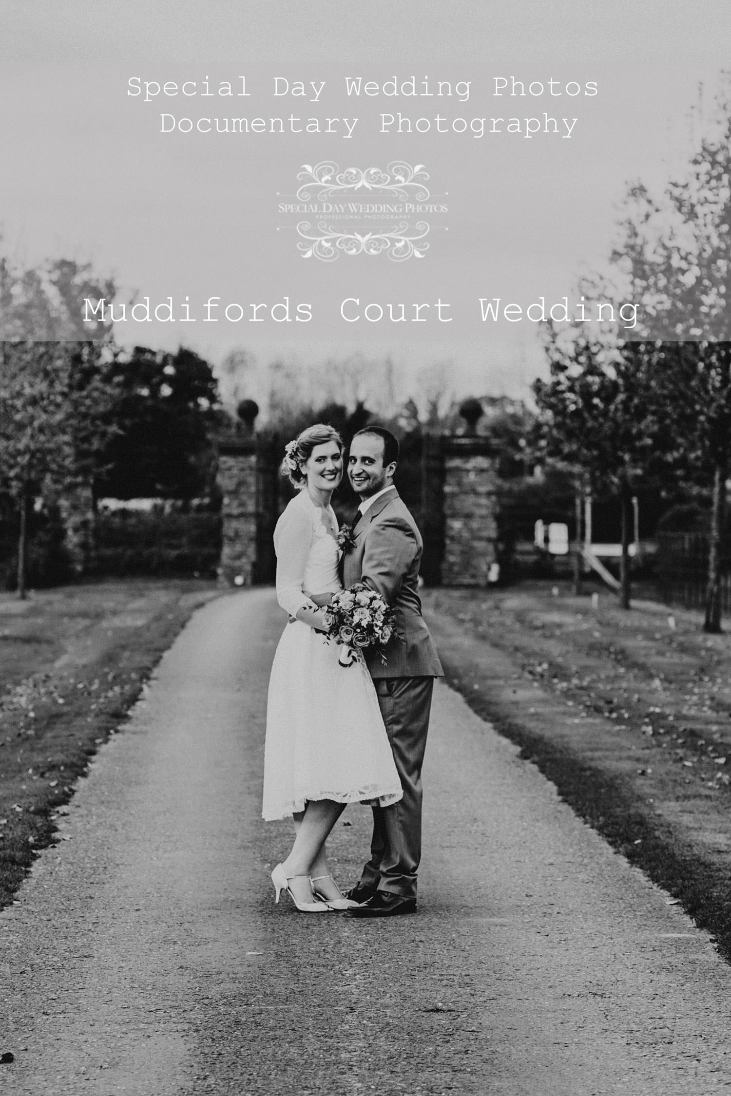 Muddifords Court Wedding, Devon.