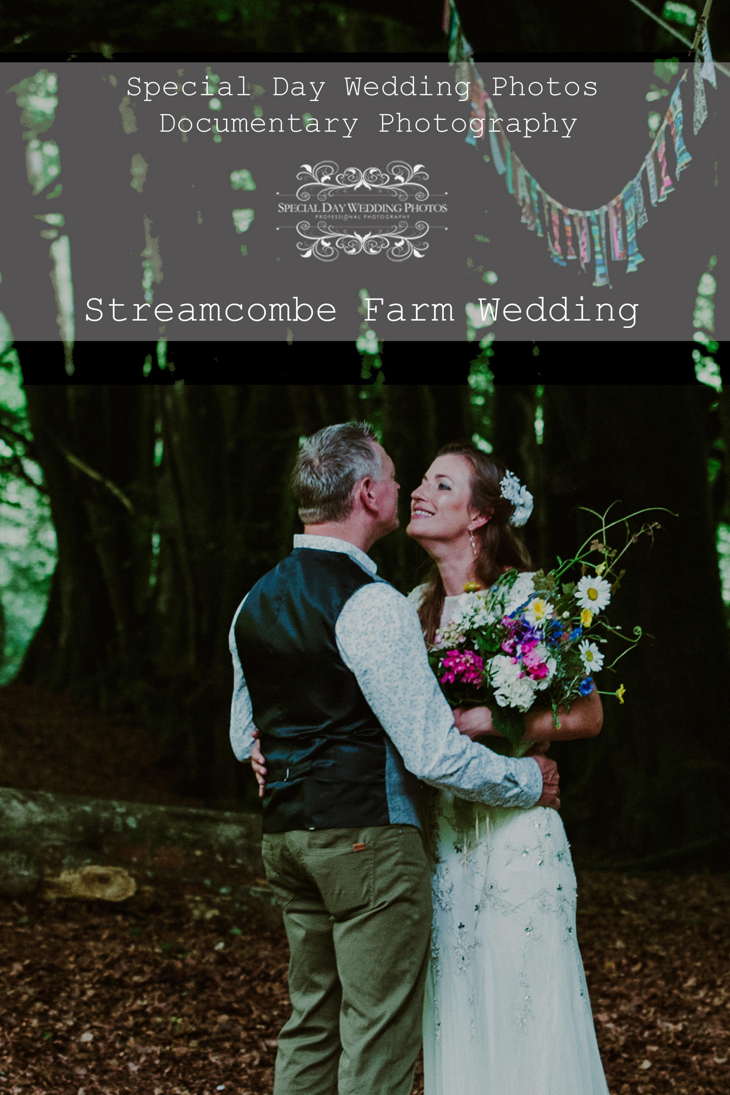 The beautiful Streamcombe Farm wedding on Exmoor in Somerset
