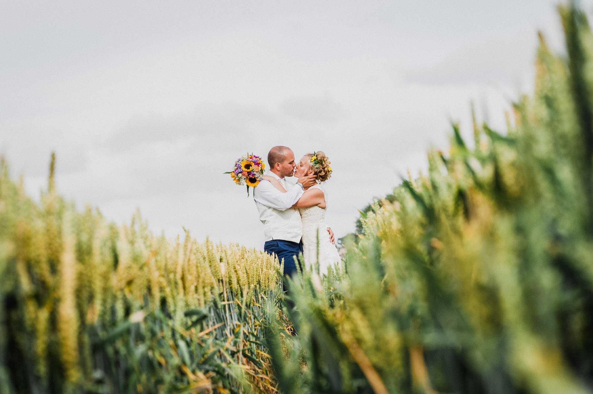 Bride & groom enjoying intimate wedding couple shots, wedding photographer somerset,